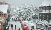 Winter season's first snowfall in China