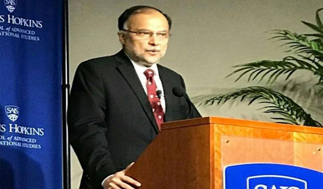 Pakistan ready to work with US for achieving peace, security: Ahsan Iqbal