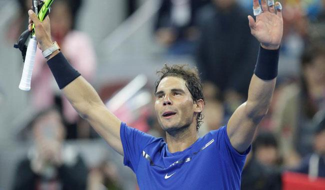 No-nonsense Nadal breezes into Shanghai last eight