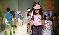 Kids fashion show held in Thailand
