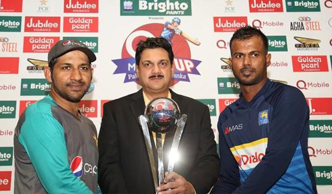Pakistan sent into bat by Sri Lanka in first ODI