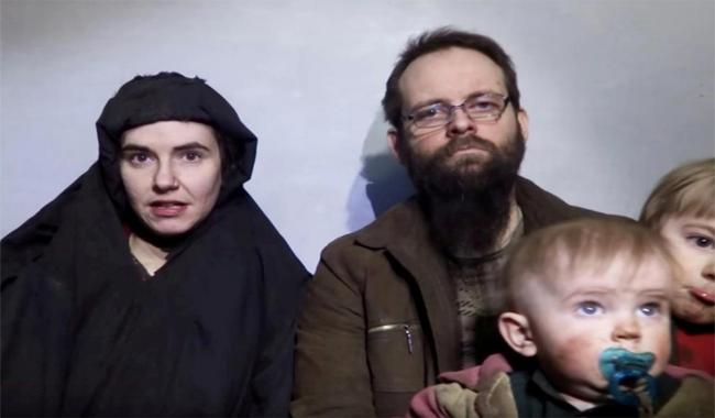 Pakistan official details car chase that freed kidnapped U.S.-Canadian family