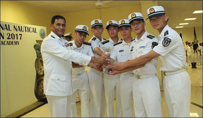 China wins 2nd Pakistan Navy Int'l Nautical Competition with 4 gold