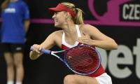 Sharapova marches into Tianjin semi-finals