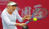 Sharapova reaches first final since drugs ban