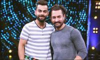 Aamir and Kohli take centre stage to entertain their fans