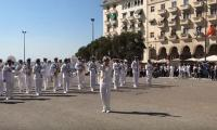 Greek Navy band thrills people with 'Despacito' performance