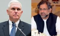 US Vice President telephones PM Abbasi, thanks Pakistan for rescuing hostages