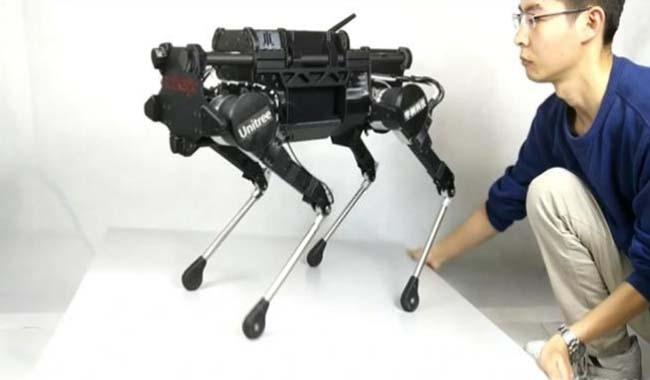 Four-legged 'robodog' hoping to become as popular as a smartphone