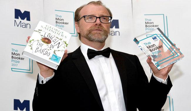 George Saunders wins the Man Booker prize for 'Lincoln in the Bardo'
