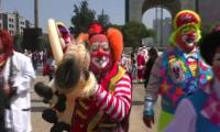 Clowns from around the world gather in Mexico City