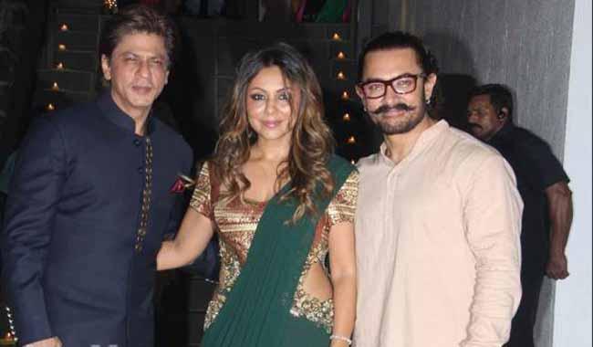 Aamir Khan hosts Diwali party