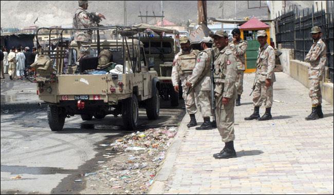 FC kills one terrorist, arrest 7 others in Balochstan