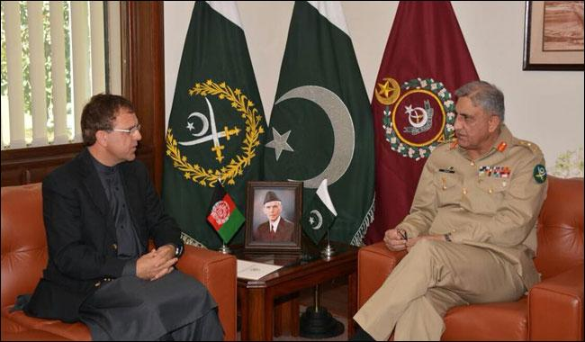 Terrorist attacks should not deter our resolve for peace in region, COAS tells Afghan Ambassador