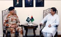 CM Sindh, DG Rangers discuss security for PSL matches in Karachi