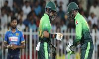 Pakistan record fourth successive win against Sri Lanka