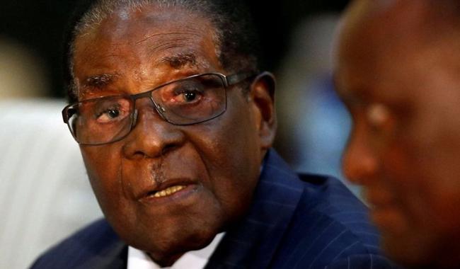 WHO chief rescinds Mugabe ambassador role after outcry