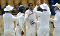Zimbabwe spin twins stun West Indies