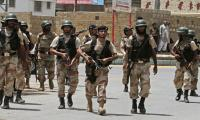 Eight terrorists killed in Rangers-CTDC operation in Raees Goth