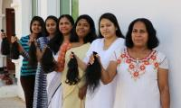 Fifteen Abu Dhabi women donate hair to make wigs for cancer patients