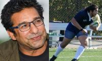 Wasim Akram feels proud watching his son playing rugby