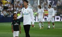 Cristiano Ronaldo's son proves football is in his blood