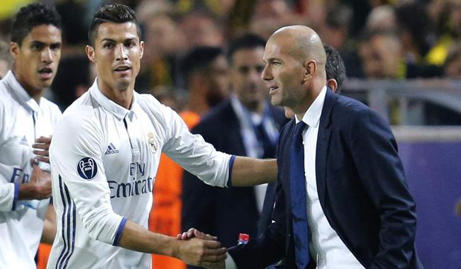 Ronaldo still ´The Best´ for Zidane