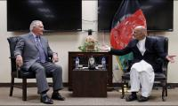 Tillerson pays flying visit to Afghanistan to discuss U.S. strategy