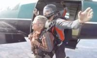 Fearless woman goes skydiving on her 80th birthday