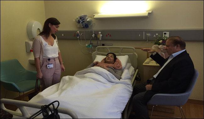Kulsoom Nawaz hospitalised again