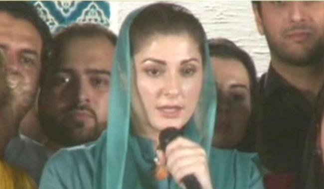 Maryam says proofs being 'created' against Nawaz Sharif