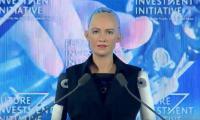 "Saudi Arabia grants citizenship to robot ""Sophia"""