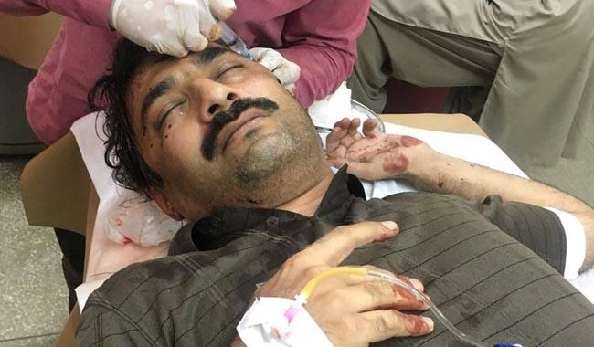 Senior The News journalist Ahmed Noorani attacked in Islamabad