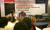 A meetup for Harris Khalique's Crimson Papers reveals its significance