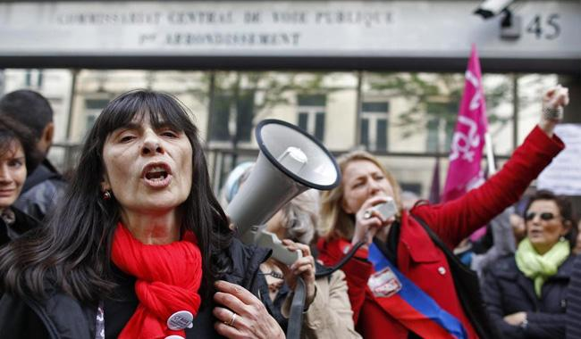 #Metoo campaign moves to French streets