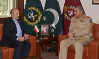 Iranian envoy calls on COAS