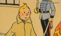 Rare Tintin drawings to go on auction