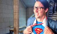 Justin Trudeau dresses up as Superman and the resemblance is too much to ignore