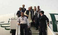 Nawaz returns to Pakistan