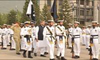 PM Abbasi reposes complete trust in professional capabilities of Pak Navy