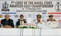 7th Chief of Naval Staff Amateur Golf Championship to tee off from Nov 10