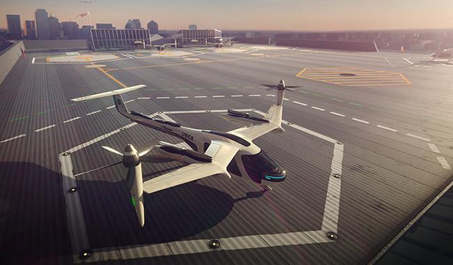 Uber to develop flying taxis with NASA