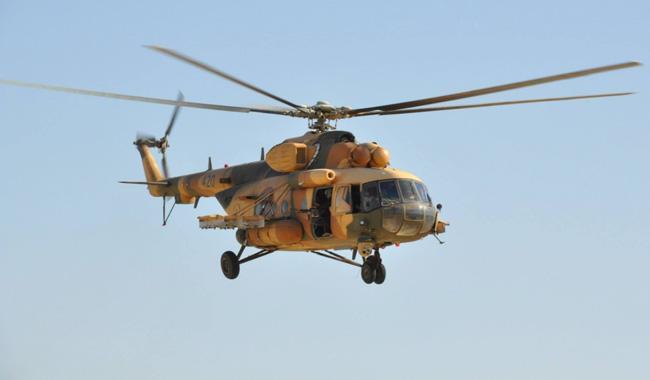 Iraqi army helicopter crash kills seven, military says