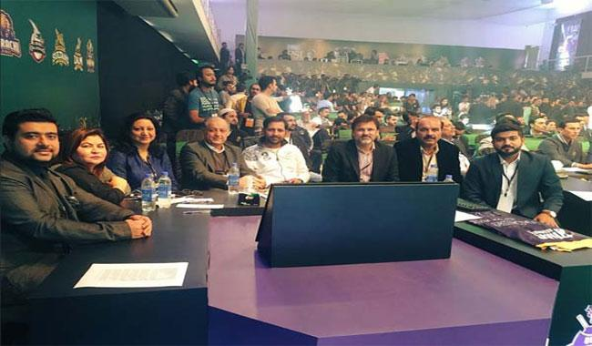 Franchises pick players in PSL-3 draft at Lahore