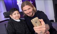 David Beckham surprises 17-year-old fan with award invitation