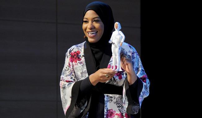 First hijab-wearing Barbie to honor US fencer Ibtihaj Muhammad