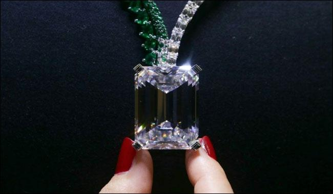 Largest diamond ever auctioned to go under hammer in Geneva