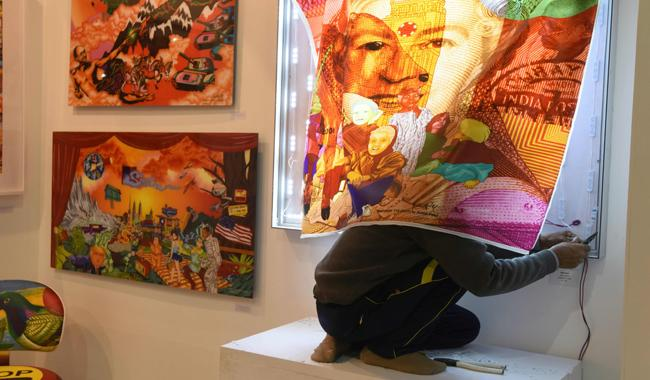 Indian art market back in the black