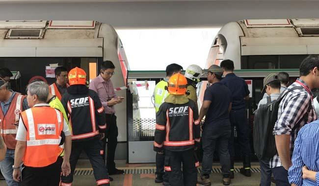 Software problem caused train collision at Singapore's Joo Koon station