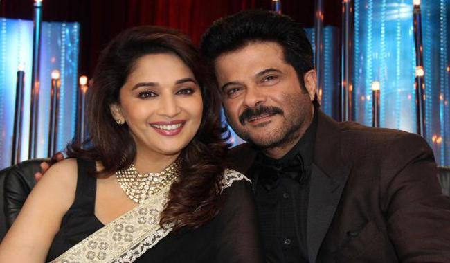 Madhuri and Anil Kapoor reunite after 17 years for film 'Total Dhamaal'